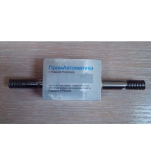Компактный пневмоцилиндр с проходным штоком
