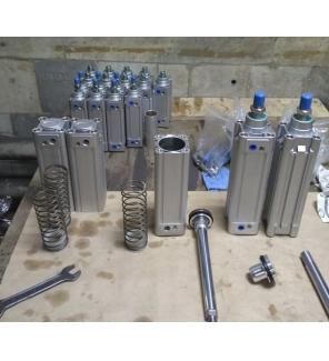 Пневмоцилиндр серии DNC по стандарту ISO 15552